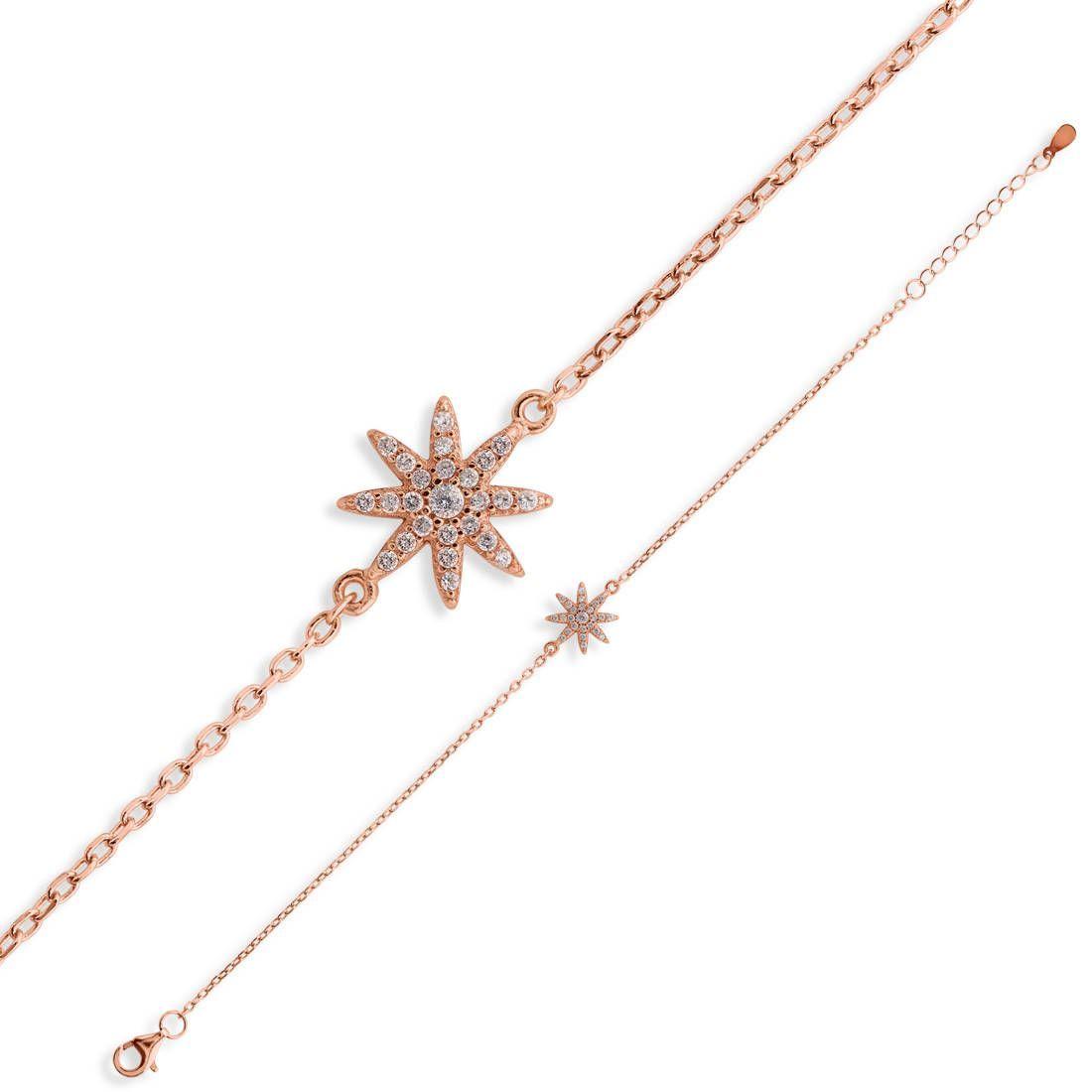 Star bracelet sterling silver bracelet ladies bracelet k