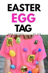 Easter Egg Tag Game
