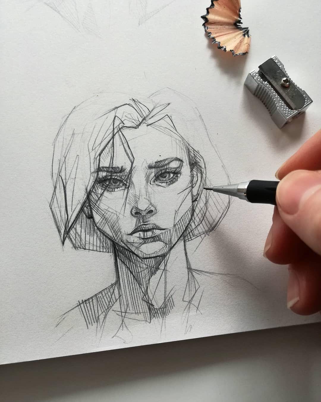 Dessin au crayon artiste Ani Cinski - #Ani #Artiste #Bolzenift #Cinski #Makeup Drawing Art