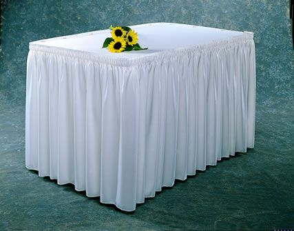 Make your own table skirt baby shower ideas pinterest favors make your own table skirt watchthetrailerfo