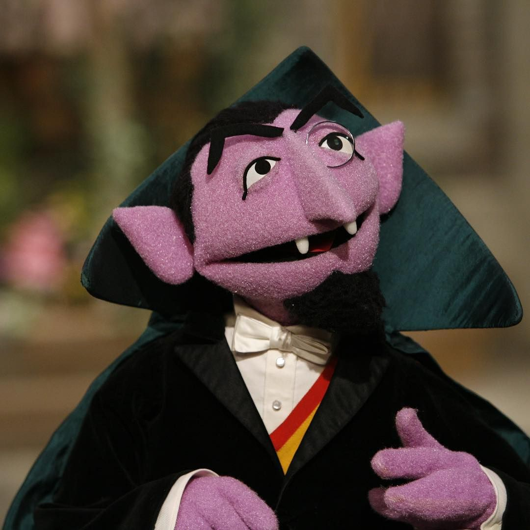 Pin On Count Von Count