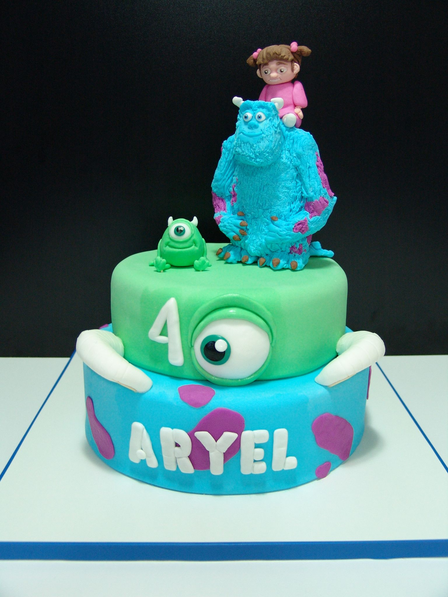 Monsters INC Monsters Inc Pinterest Monsters Birthdays and Cake