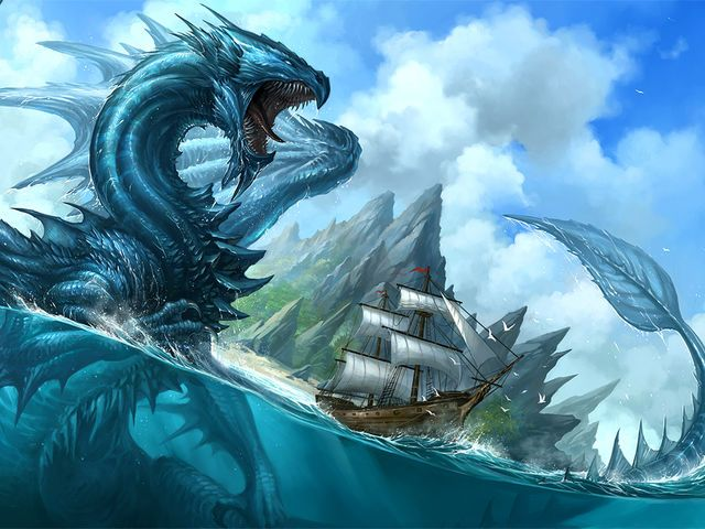 Water dragon You're the water dragon! You are calm, loveable and caring but when someone steps over your limits, you turn into a raging sea storm! But, after some time your waters will become calm and blue clean again.
