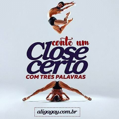 Vamos brincar de contar um close certo? Mostra pra gente que você sabe lacrar em 3 palavras. #closecerto #aligagay