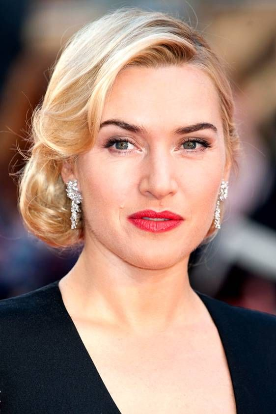 Old Hollywood Updo Kate Winslet Hair In 2018 Pinterest Updo