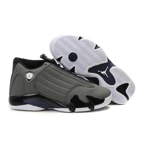 Black · Cheap Air Jordan 14 Retro Charcoal Grey Black. Jordans SneakersNike  ...