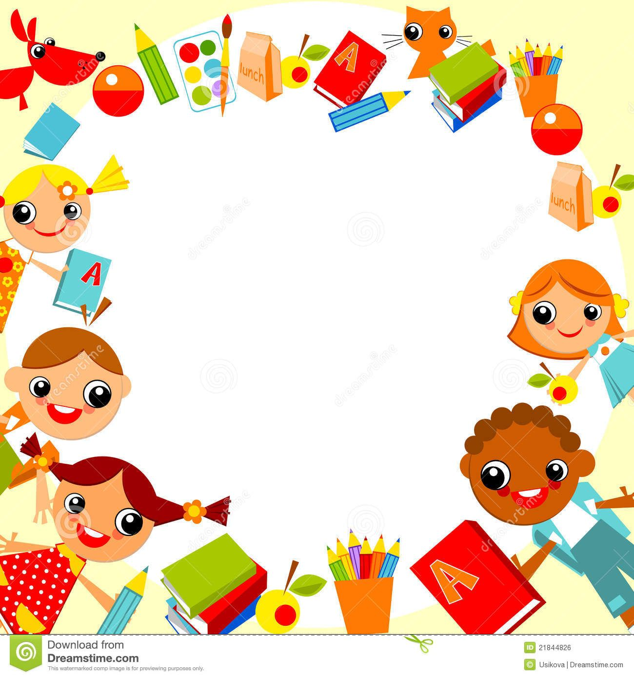 Book Cover Design Background For Kids ~ Children s background cornici bordi e pergamene