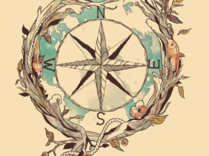 Possible Compass Tattoo Idea | Ruth Tattoo Ideas