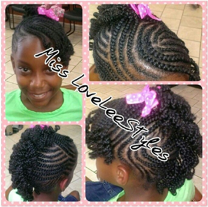 Pleasant African American Braided Hairstyles For Kids Pictures Of Natural Hairstyle Inspiration Daily Dogsangcom