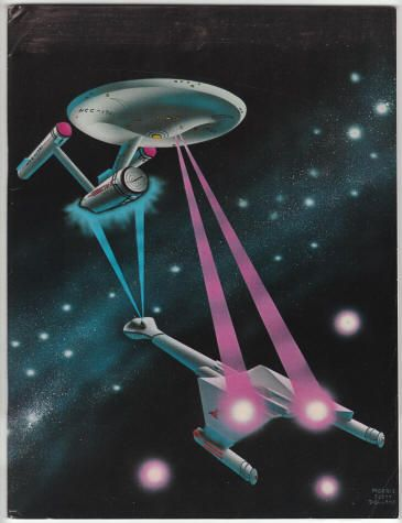 Rocket's Blast Comicollector #105: November? 1973, VG+, 108 pages, circulation 2,000. Morris Scott Dollens color front cover art (Star Trek/The Enterprise). Feature articles: Star Trek: The Way It Was by James Van Hise, Leonard Nimoy interview, Wally Wood reprint, The Williamson Collector, The Pulps: Otis Adelbert Kline, Inside Comix #2. $16