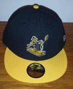 064167067a6 New Era 59Fifty Pittsburgh Steelers Retro Throwback Hat Cap Fitted 7 1 4 7  3 8 NWT Football