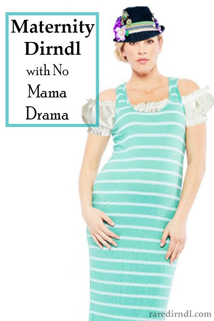 Maternity Dirndl With No Mama Drama
