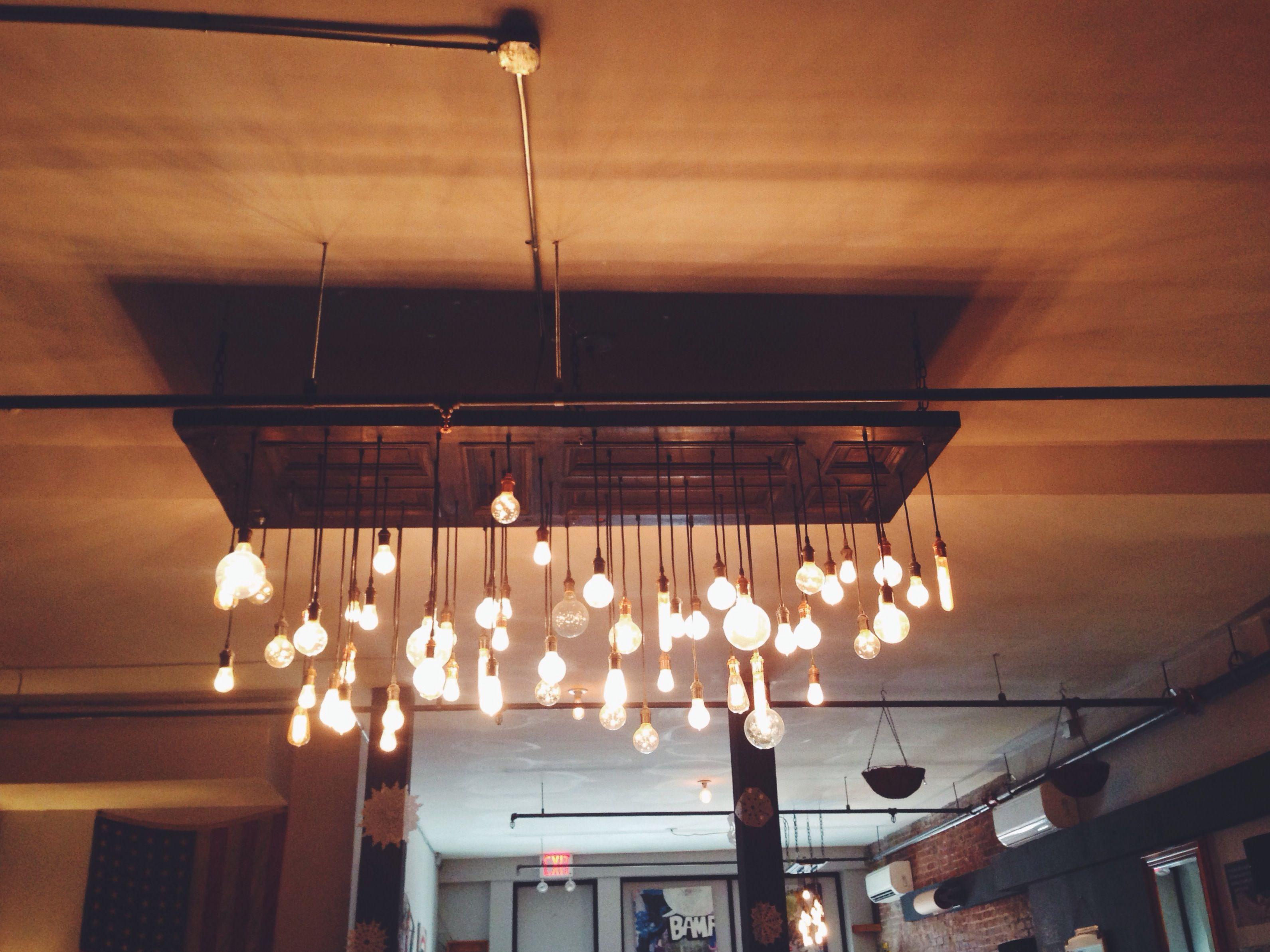 Edison bulbs dtut upper east side nyc lighting