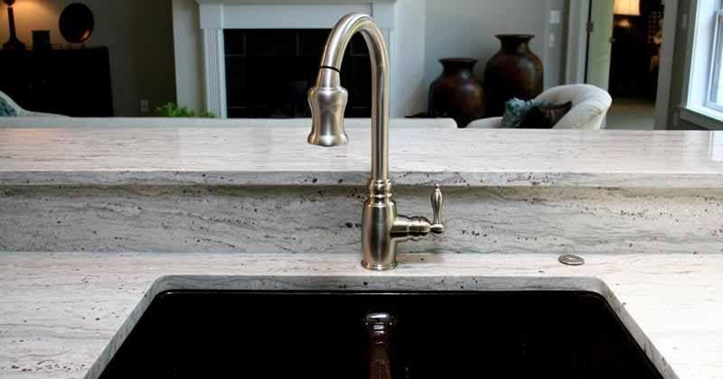 Wie gefällt euch die Granitarbeitsplatte aus dem Material - alno küchen arbeitsplatten