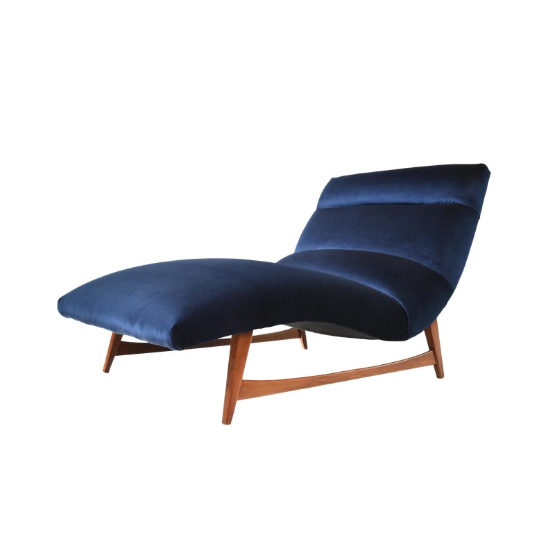 Mid Century Modern Chaise Lounge Chair Modern Chaise Lounge