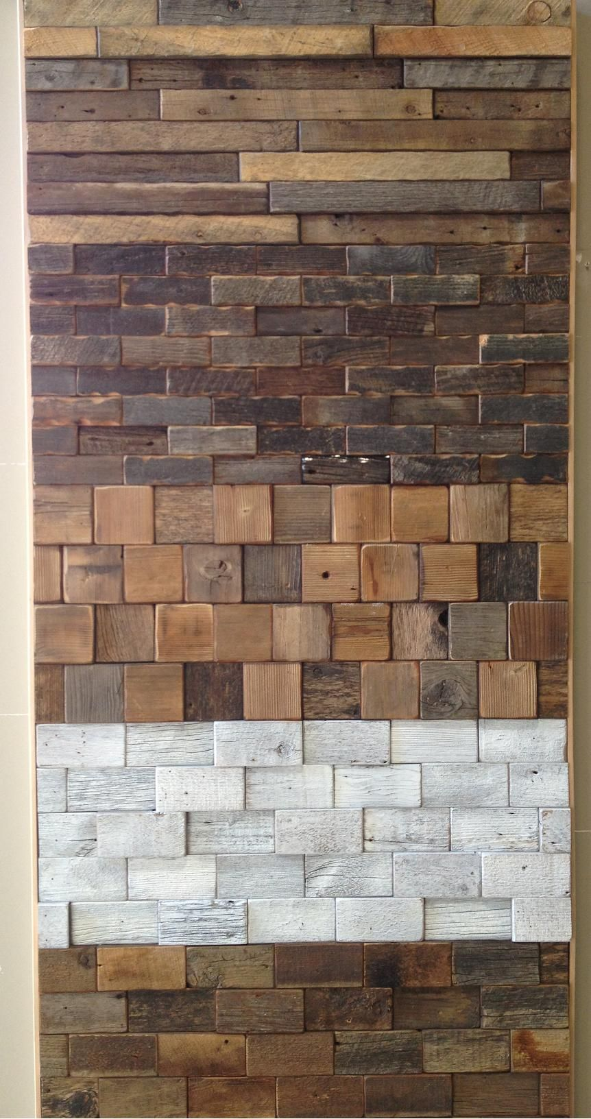 - Wandbekleidungen In 2019 Wood Wall Tiles, Reclaimed Barn Wood