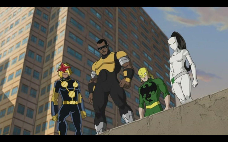 ultimate spiderman iron fist | Nova, Power Man, Iron Fist ...