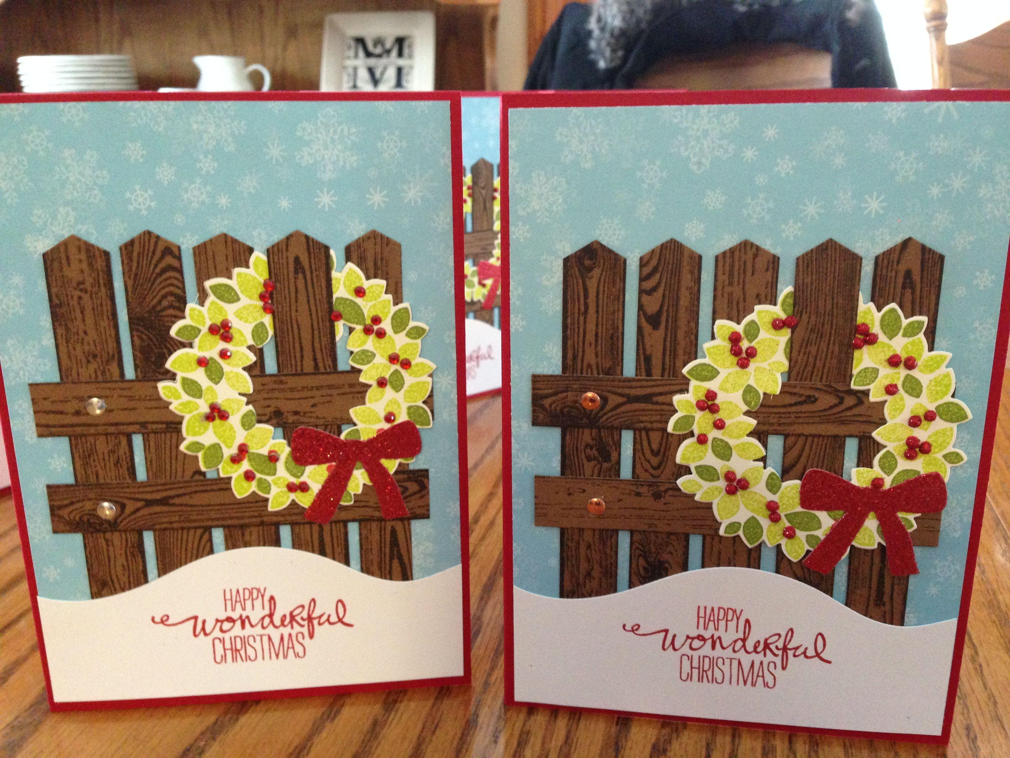 Stampin Up Christmas Card 2015