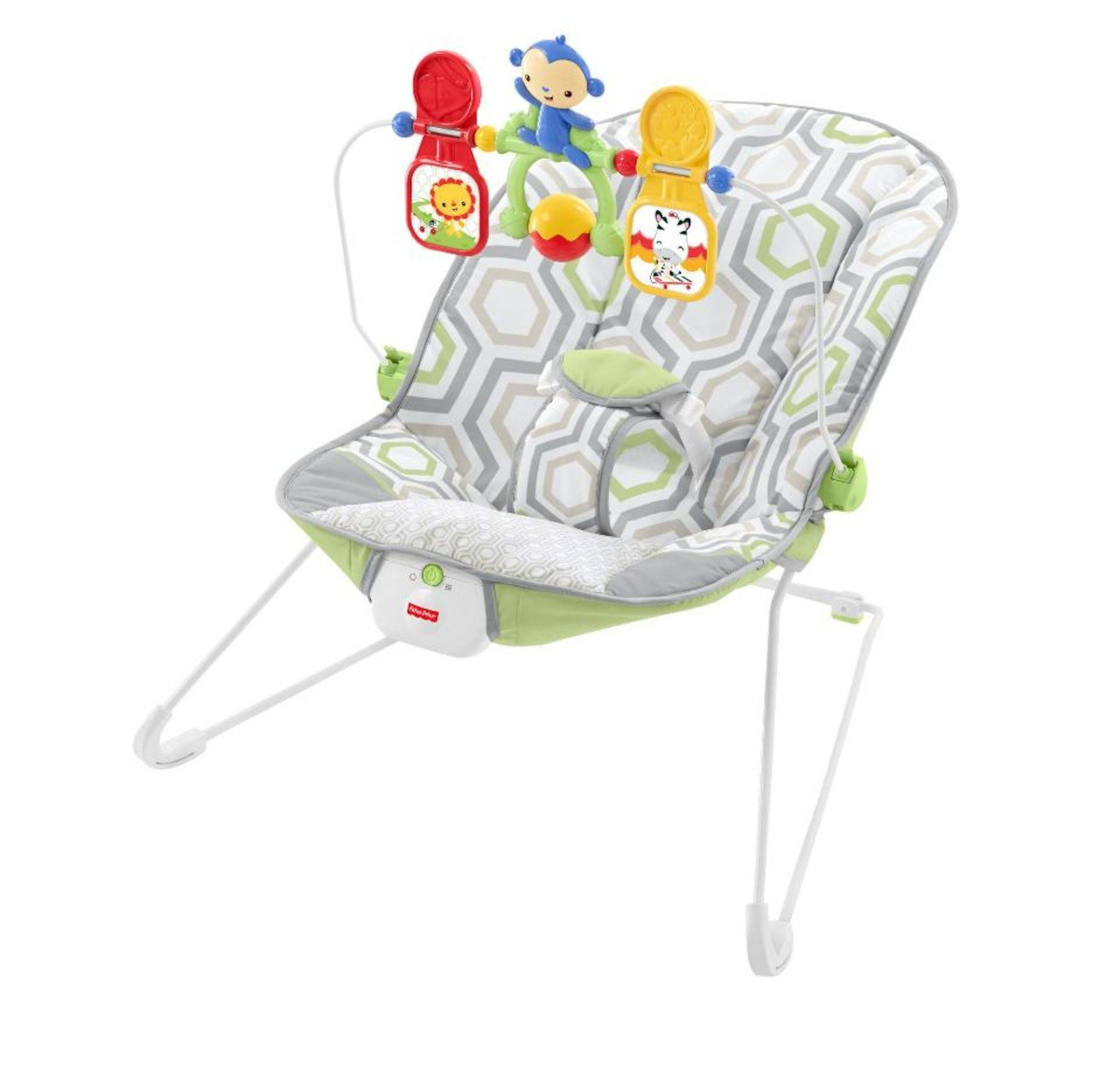 Fisher-Price Baby/'s Bouncer Geo Meadow