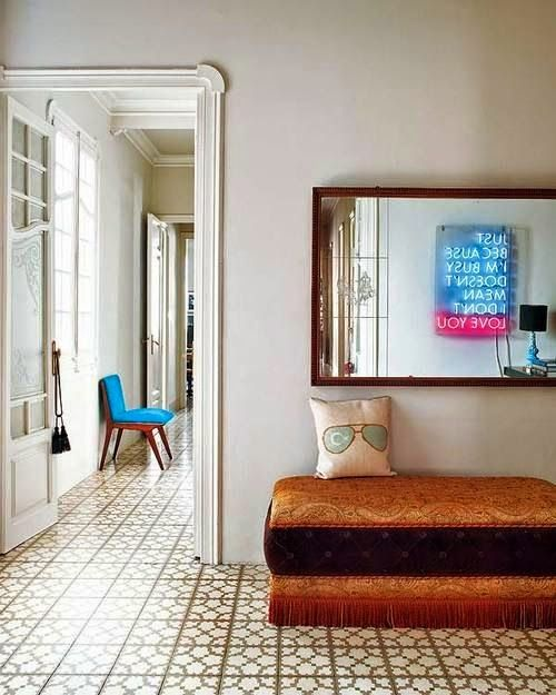 neon signs interior design I Believe in MIRRORS!! Pinterest