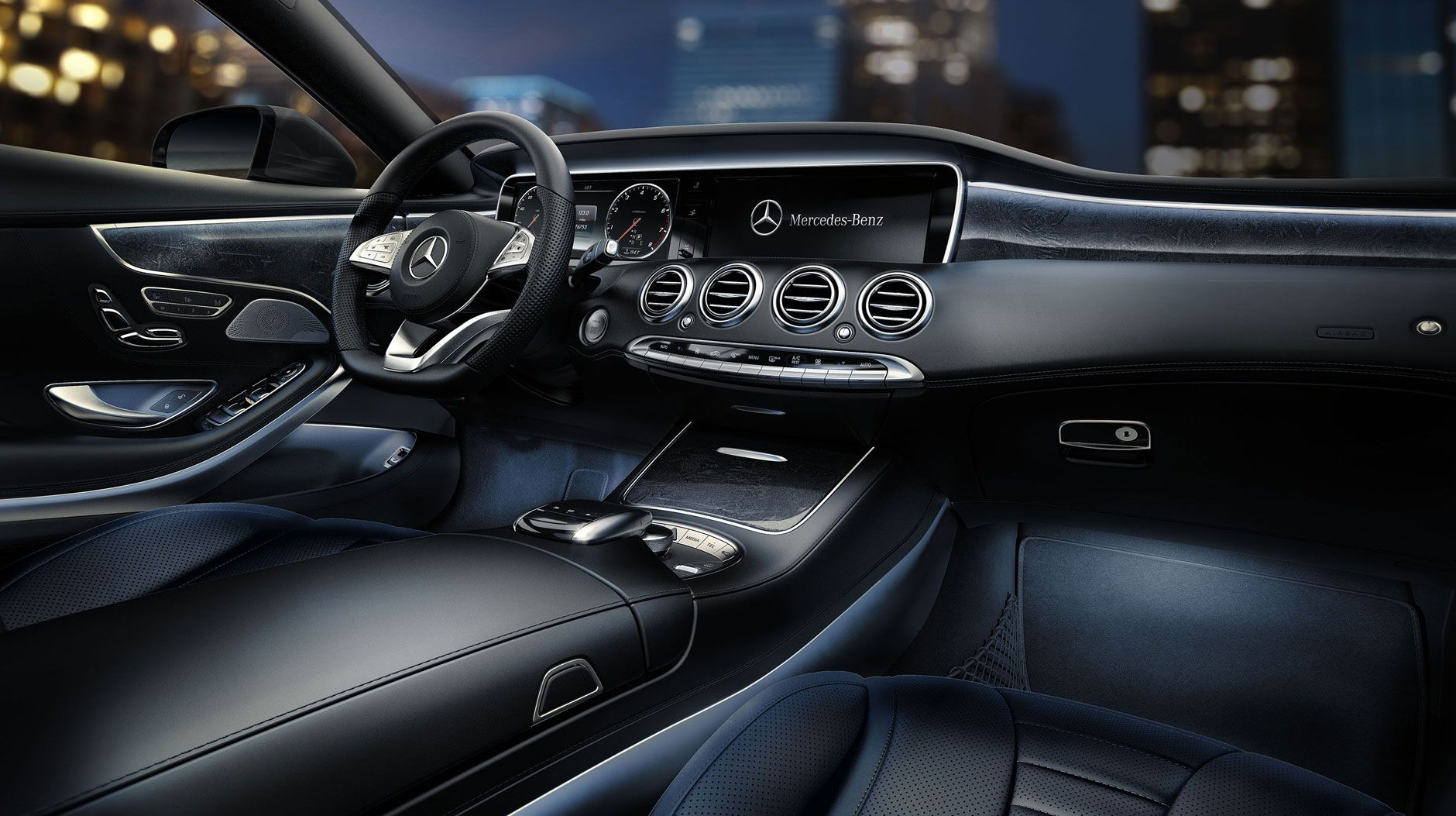 Merceves Benz 4matic Coupe Interior With Images Benz S Class