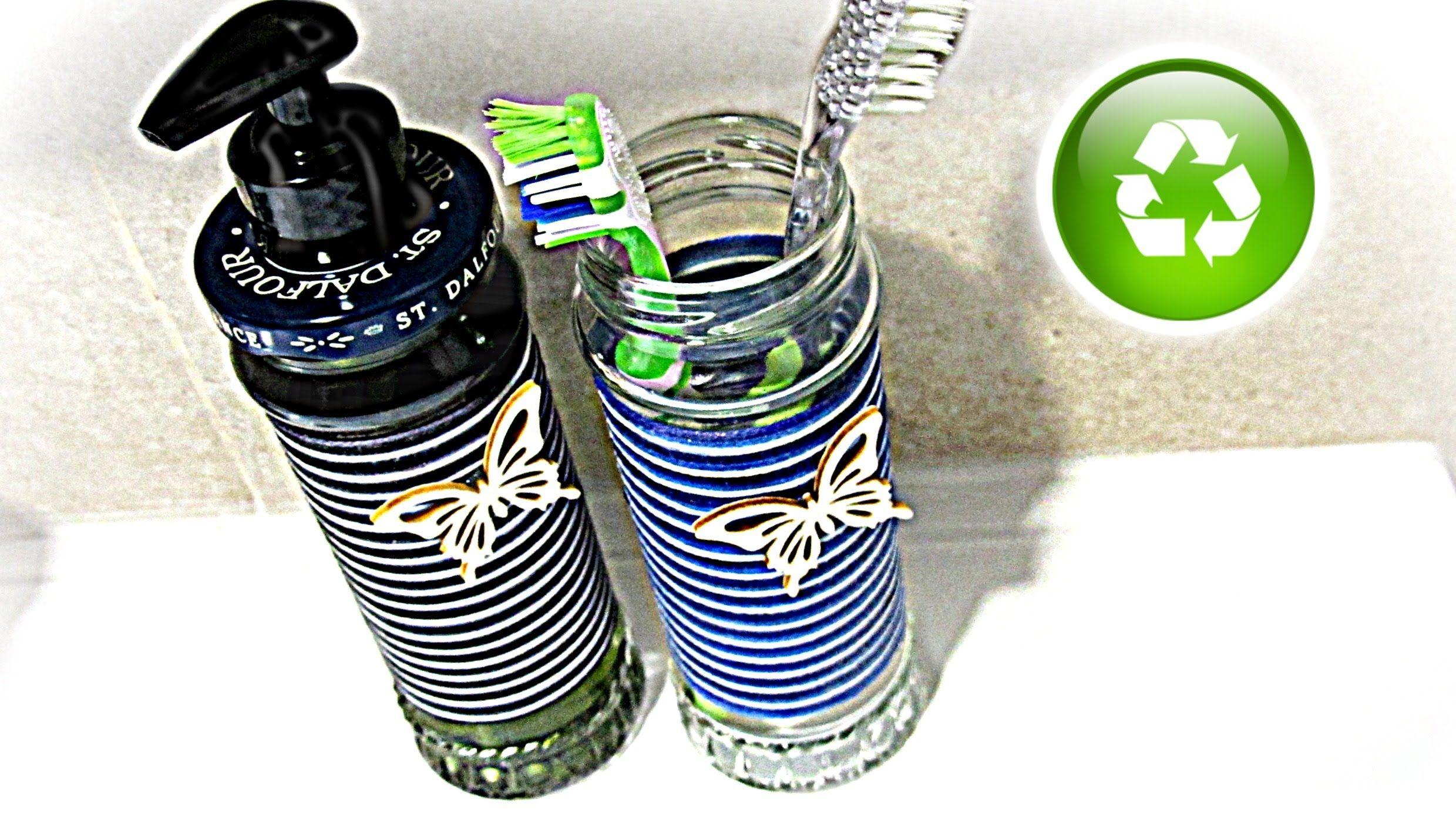 C mo hacer un dispensador de jab n reciclado how to make - Dispensador de latas ...