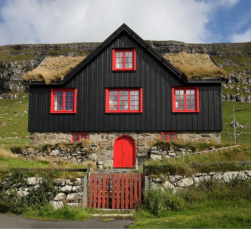 Orange and Black, The Faroe Islands
