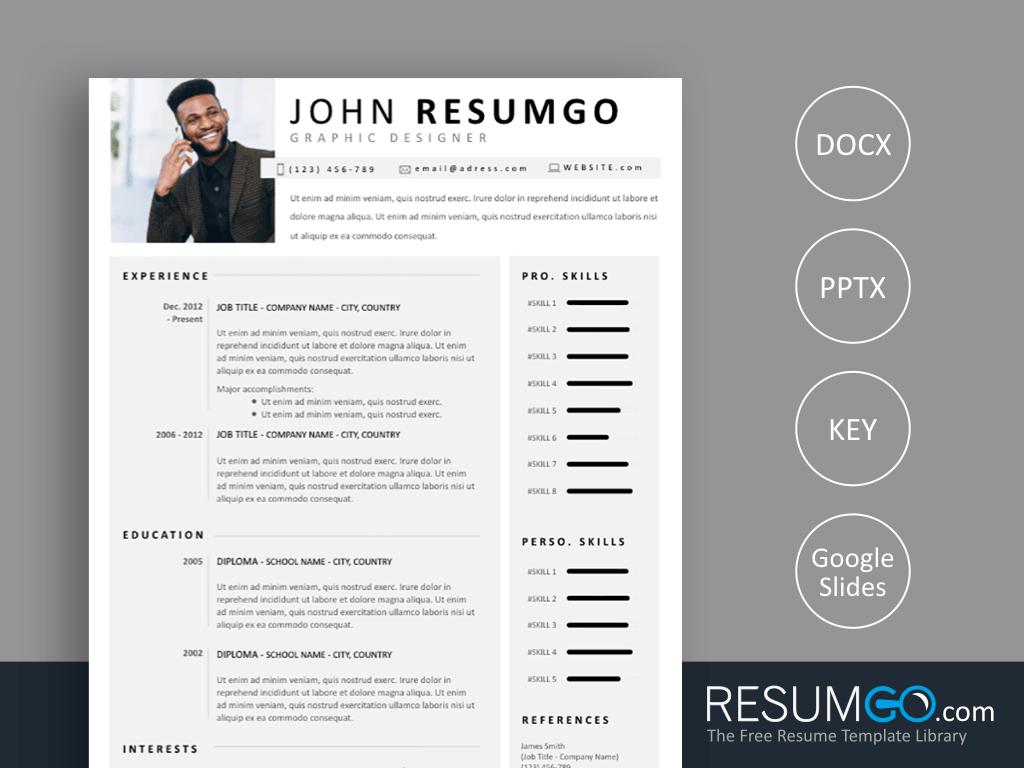 TELAMON Professional Resume Template