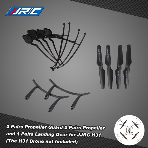 3.87$  Know more - http://aicv4.worlditems.win/all/product.php?id=RM7420 - Original JJRC H31 Spare Part 2 Pairs Propeller 4 Pcs Propeller Guard and 1 Pair Landing Gear for JJRC H31 and GoolRC T6 RC Quadcopter