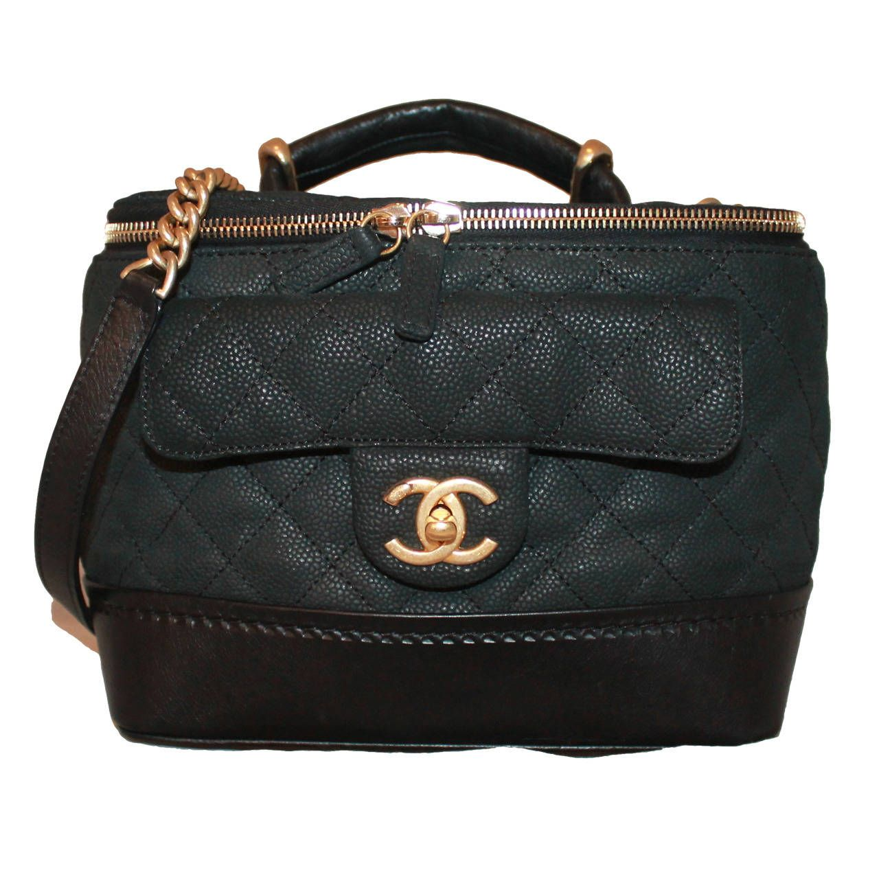 Leather quilted handbags and purses - Bag Chanel Black Leather Quilted