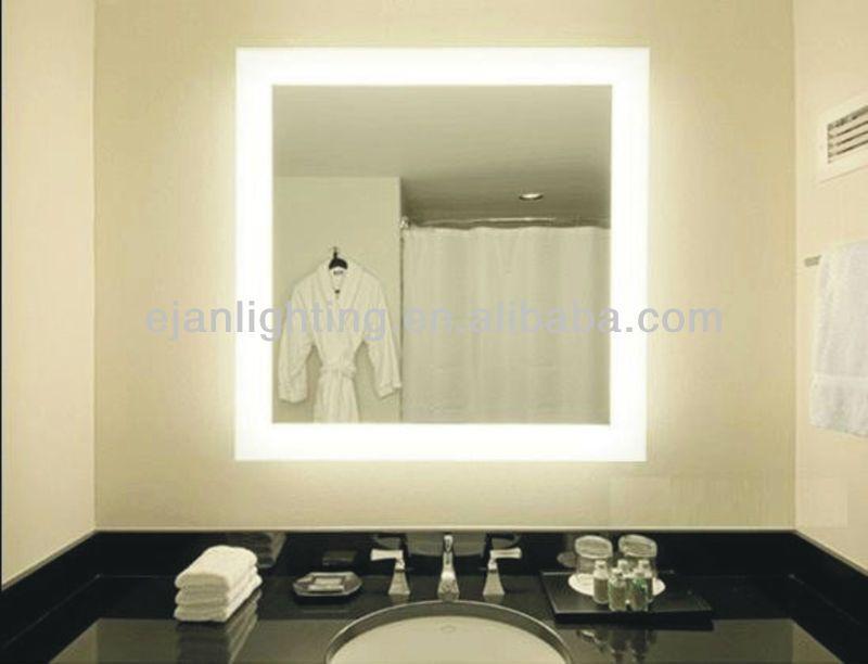 China Bathroom Accessory Ul Ce Bathroom Back Lit Mirror Bathroom Mirrors Diy Mirror Wall Bathroom Wall Mounted Makeup Mirror Lighted wall mounted make up mirror