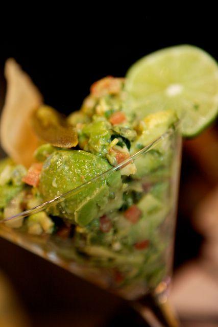 Guacamole Martini - so cute for a party!