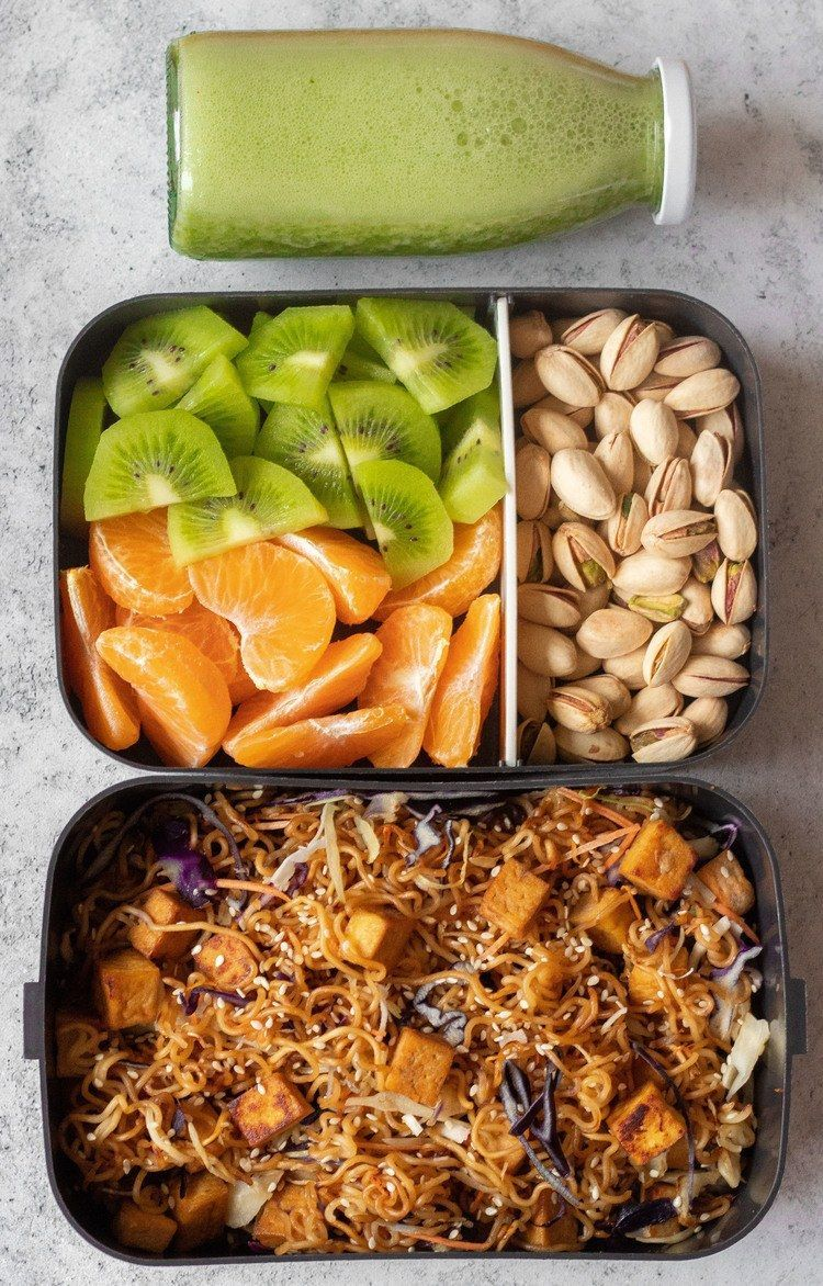 These Easy Vegan Lunch Box Ideas for Work will give you a ton of inspiration for meal prep! Not just for adults. | The Green Loot #vegan #veganrecipes #mealprep #adult #bento #Box #drink #drink ideas #drink ideas for party #drink trends 2020 #easy #ideas #lunch #vegan #Work