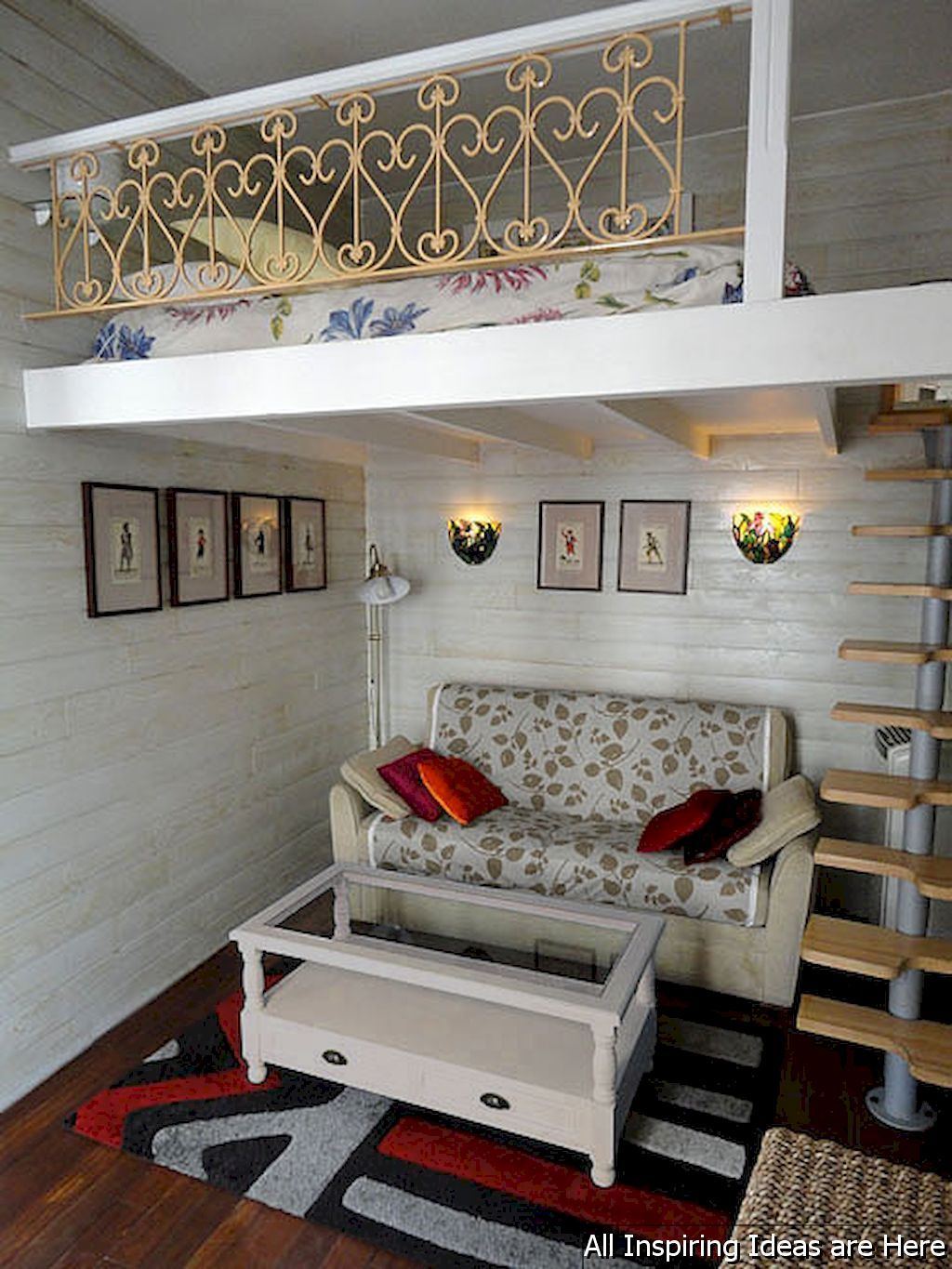 Loft bedroom staircase  Awesome Small Loft Bedroom Ideas   Small loft bedroom Small