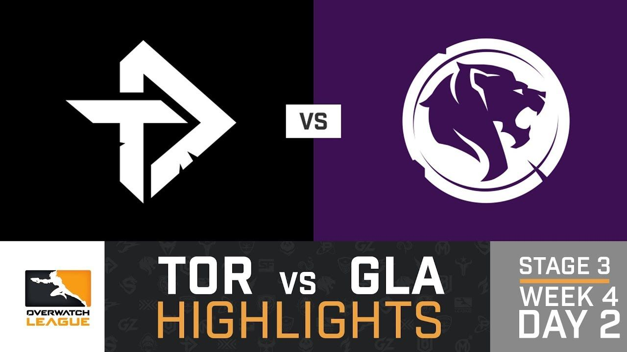Highlights Toronto Defiant Vs Los Angeles Gladiators Stage 3 Week 4 Day 2 Overwatch League Youtube Overwatch League Defiant