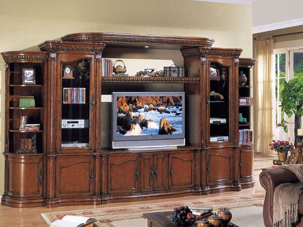 pictures of entertainment centers finish wall unit 8840l acme entertainment center 169 x. Black Bedroom Furniture Sets. Home Design Ideas