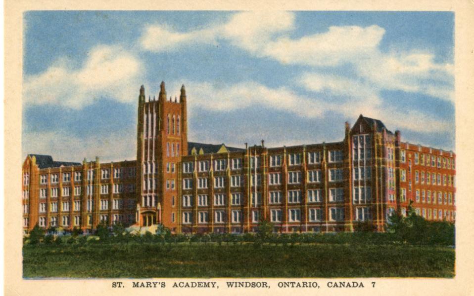 St. Mary's Academy, Windsor, Ontario, Canada 7 | Southwestern Ontario Digital Archive