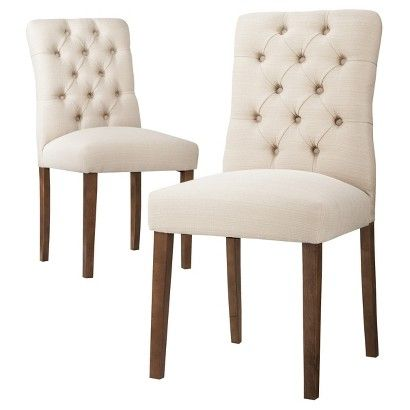 Threshold Brookline Tufted Dining Chair Set Of 2
