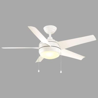 Home decorators collection 44 in windward matte white ceiling fan home decorators collection 44 in windward matte white ceiling fan aloadofball Image collections