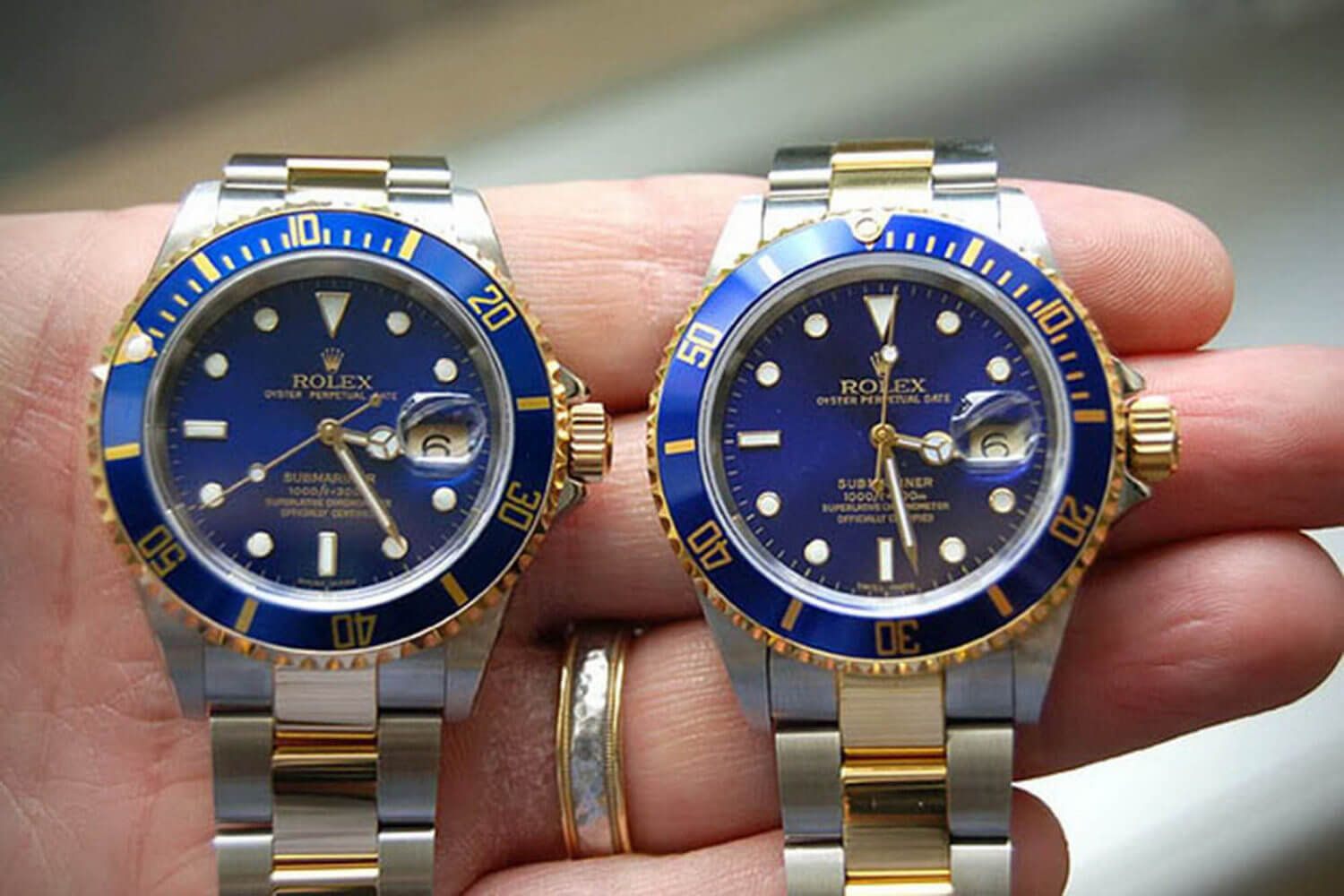 Can You Spot The Fake Rolex Rolex Rolex Watches Vintage Watches