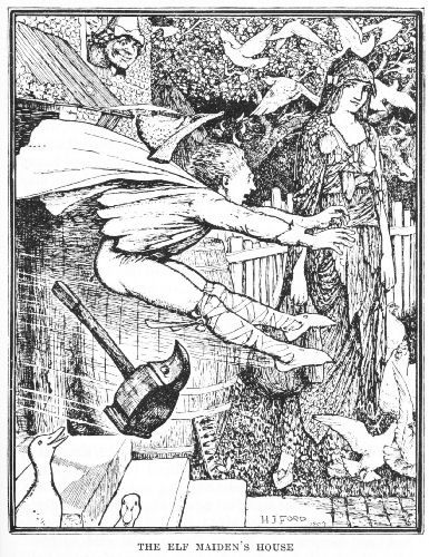 The Elf Maiden - The Brown Fairy Book by Andrew Lang, 1904
