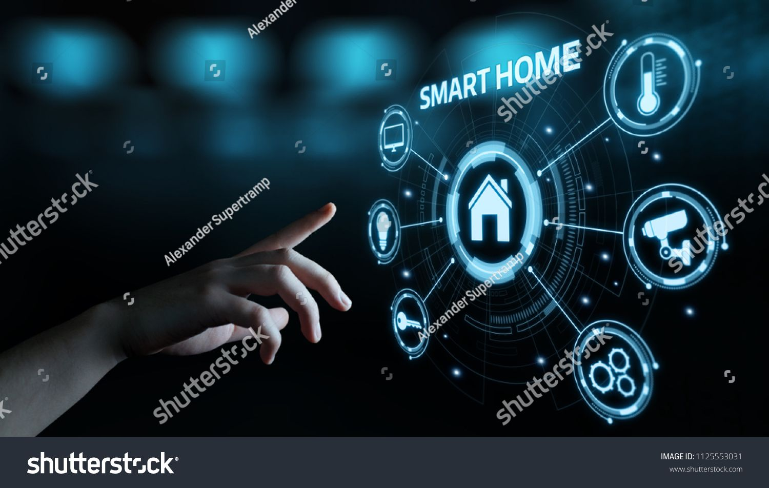 Smart Home Automation Control System Innovation Technology Internet Network Concept Control Syste Smart Home Automation Home Automation Innovation Technology