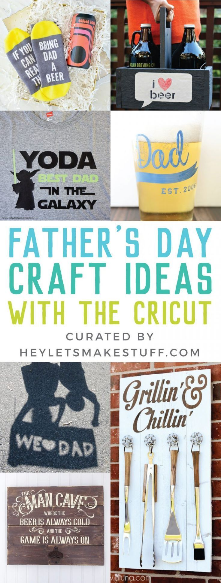 Father S Day Craft Ideas With The Cricut Fathers Day