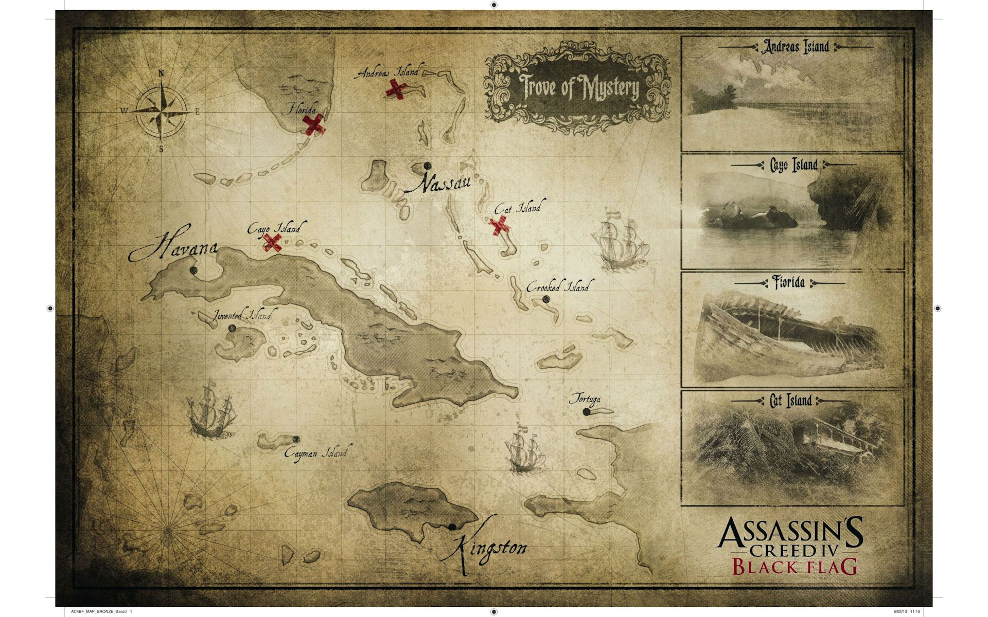 Ac4 Black Flag World Map Assassins Creed Black Flag Assassins