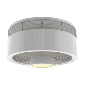 Beautiful Harbor Breeze Hive Series 18 In White Indoor Flush Mount Ceiling Fan With  Light Kit