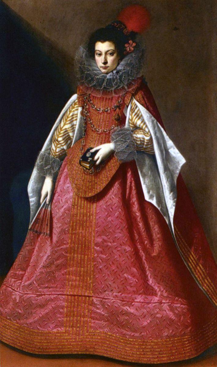 Portrait Of A Young Lady By Carlo Ceresa C 1635 Historia Da Moda Moda Retrato