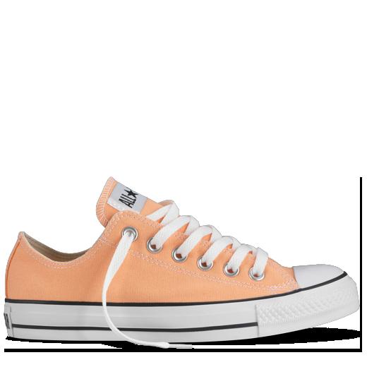 Converse - Chuck Taylor All Star Basses - coloris saisonnal Mandarine