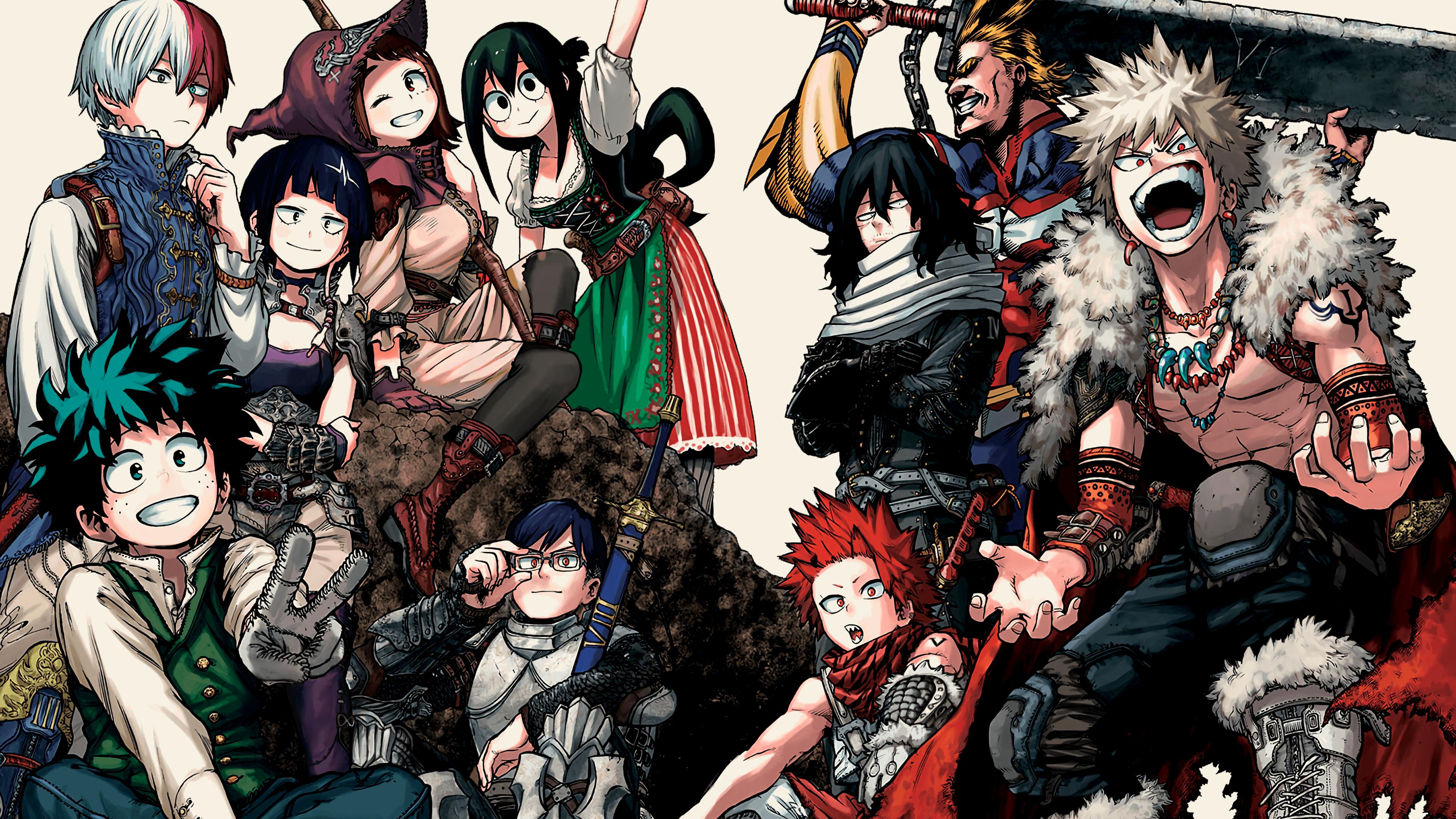 Anime Wallpaper 4k Reddit Gallery In 2020 Anime Anime Wallpaper Hero Wallpaper
