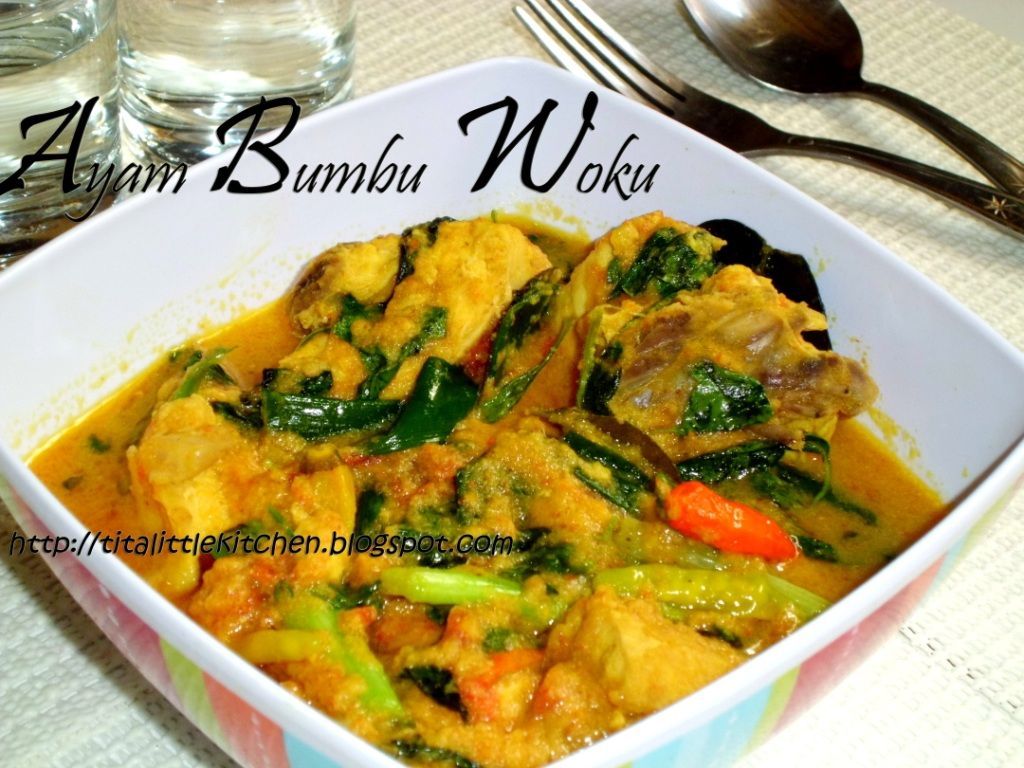 Tita S Little Kitchen Ayam Bumbu Woku Resep Masakan Sehat Resep Masakan Indonesia Resep Masakan