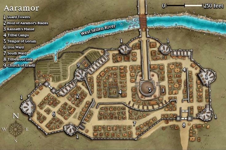 Dnd District And Rings